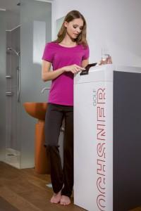 Dank modernster Elektronik lässt sich eine Wärmepumpenheizung problemlos an die Bedürfnisse der Hausbewohner anpassen. Foto: www.ochsner.com/akz-o