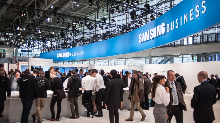 CeBIT 2015: Samsung Business überzeugt Messebesucher
