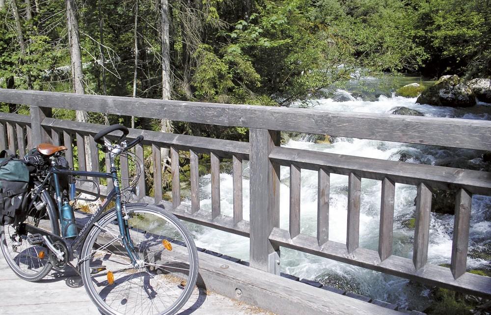 Am Chiemsee auf Radreise